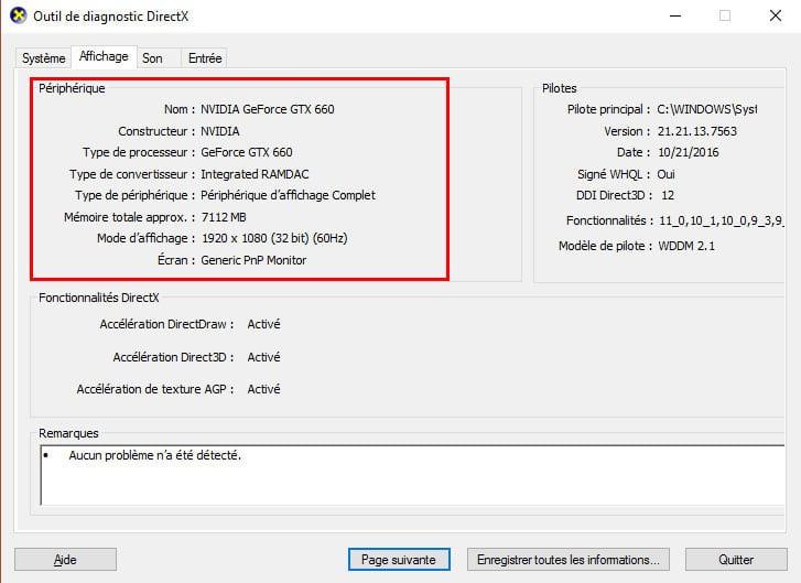 Comment Verifier Votre Carte Graphique Sous Windows 10 Gtx Gamer