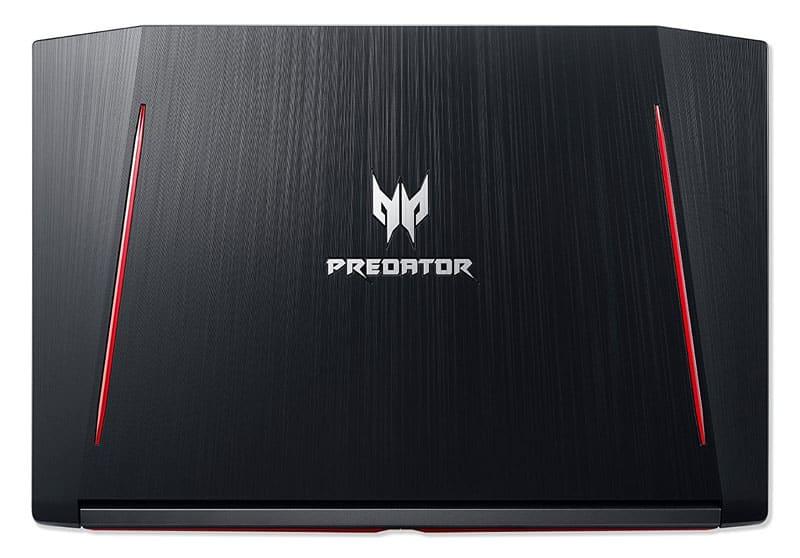 Logo Helios 300 Acer sur le capot
