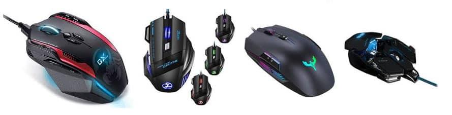 Guide des meilleures souris pour le jeu
