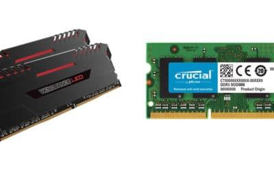 Les 10 meilleures mémoires RAM