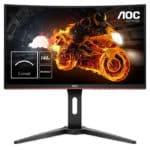 AOC C24G1 : moniteur de jeu incurvé FreeSync 1080p 144Hz