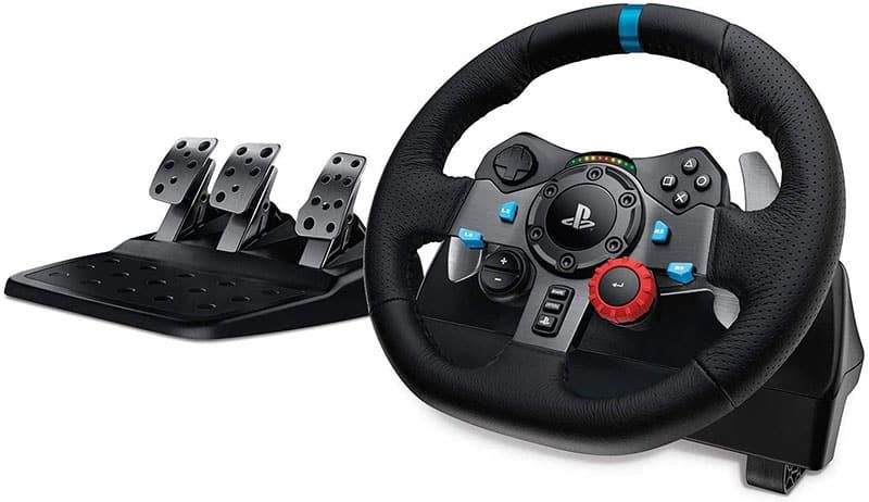 Logitech-G29-Driving-Force-Volant-de-Course-avec-Pédales