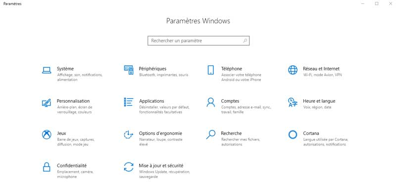 paramètres-windows-10