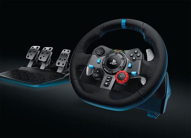 volant-de-course-et-joystick-voiture-pour-pc-gamer