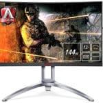 AOC AG273QCX : moniteur de jeu incurvé1440p 144Hz meilleur rapport qualité/prix
