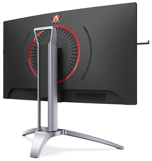 AOC-ecran-gaming-Agon-AG273QCX-vue-de-dos
