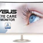 "ASUS VZ27VQ : moniteur incurvé 27"" Full HD"