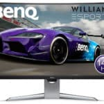BenQ EX3203R: Moniteur de jeu incurvé HDR 1440p 144Hz FreeSync 2