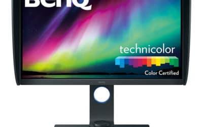 BenQ SW271 : moniteur professionnel 4K HDR Adobe RGB