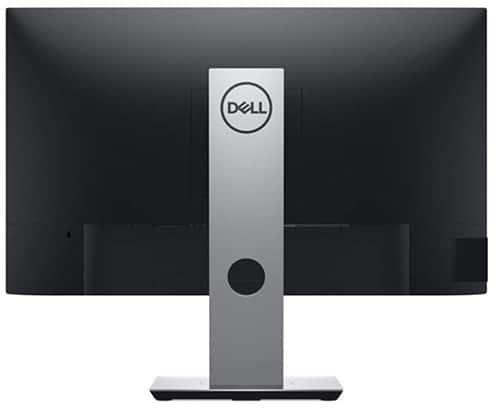 DELL-P2419H-23.8-pouces-Full-HD-LED-Mat-Plat-Noir-écran-plat-de-PC-vue-de-dos