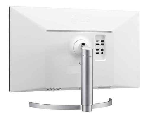LG-27UL850-W-écran-Plat-de-PC-27-pouces-4K-Ultra-HD-LED-Mat-usb-c-vue-de-dos