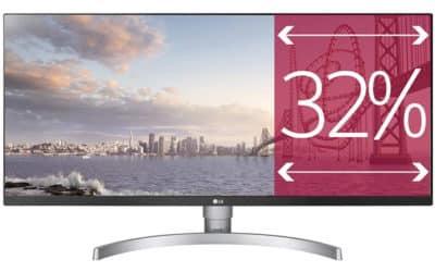 LG 34WK650 : moniteur de jeu ultra large 2560×1080 FreeSync