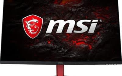 MSI Optix AG32C : moniteur de jeu incurvé 1080p 165Hz FreeSync