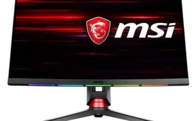 MSI Optix MPG27CQ : moniteur de jeu incurvé 1440p 144Hz 1ms MPRT FreeSync