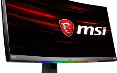 MSI MPG341CQR : moniteur de jeu incurvé ultra-large 3440×1440 144Hz