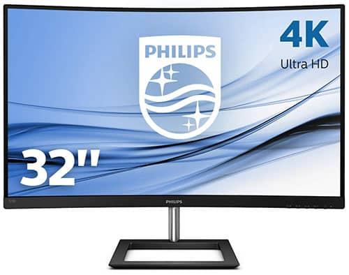 Philips-328E1CA-écran-Plat-de-PC-80-cm-4K-Ultra-HD-LCD-Incurvé
