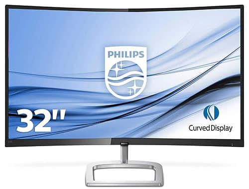 Philips-E-Line-Moniteur-LCD-incurvé-avec-Ultra-Wide-Color-328E9QJAB
