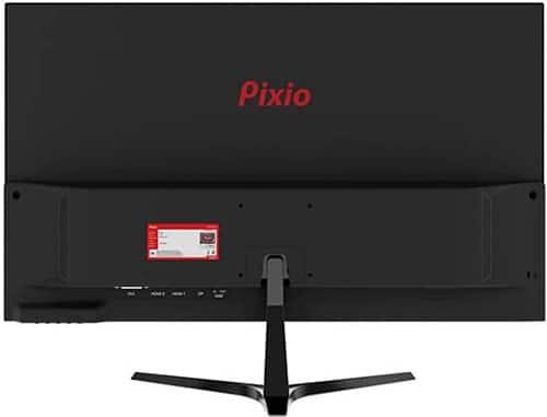 Pixio-PX276-moniteur-de-jeu-1440p-144Hz-1ms-FreeSync-vue-de-dos