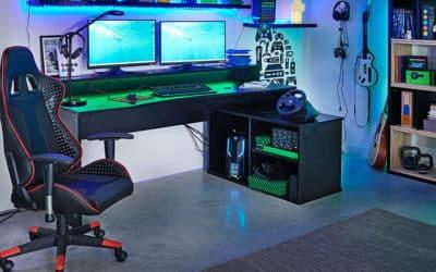 Comment concevoir une pièce pour gamer?