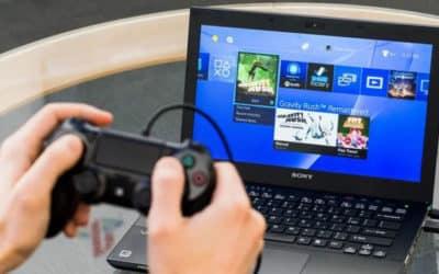 Comment jouer sur une console avec un écran d'ordinateur portable ?
