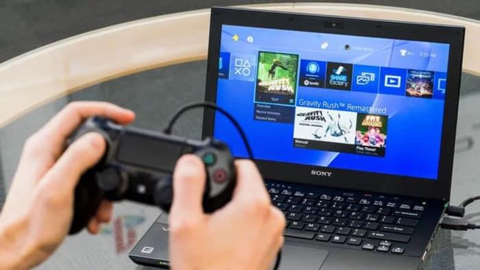 Comment Jouer Sur Une Console Avec Un écran D'ordinateur Portable