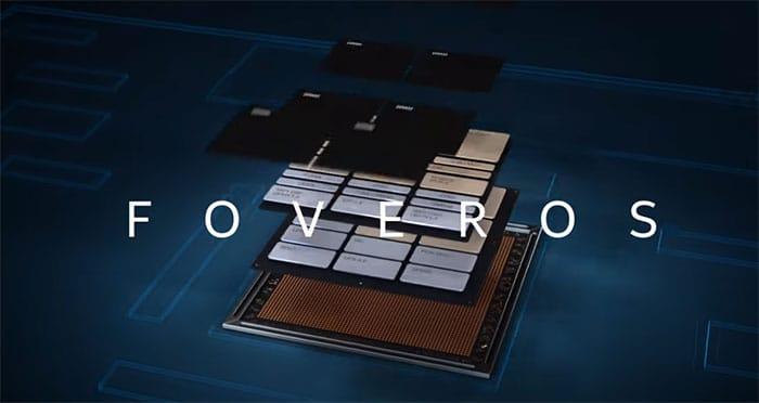 Intel Lakefieldsoc 3d à 5 Cœurs