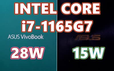 Intel Tiger Lake i7-11390H, i7-11320H, i7-1195G7 et i5-1165G7