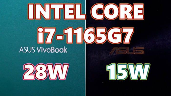 Intel Tiger Lake I7 1165g7