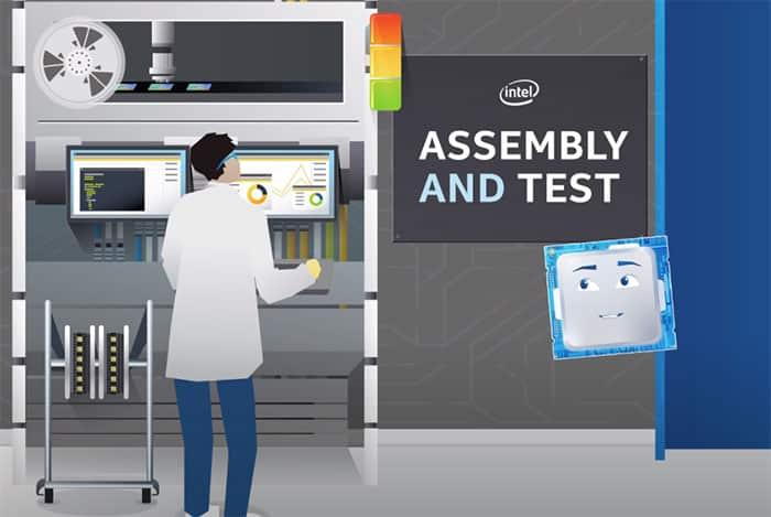 Assemblage Et Test Processeur Intel