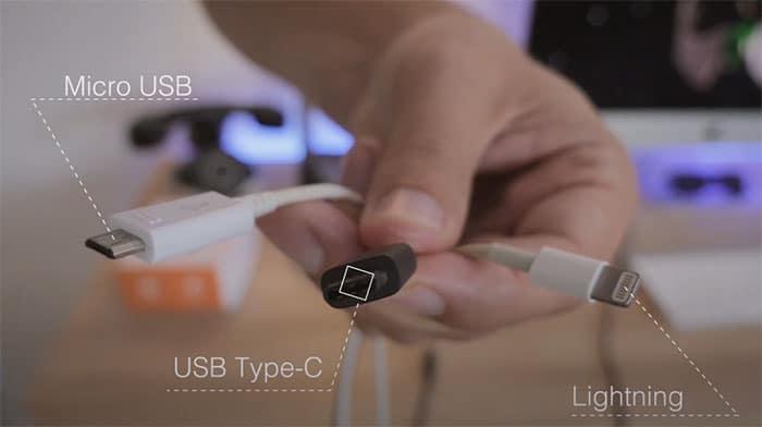 Cable Et Port Usb C
