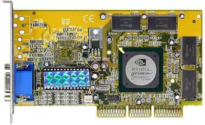 Carte Graphique Nvidia Geforce 256 Ddr