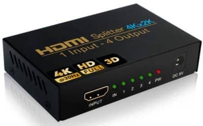 Est-il préférable d'utiliser un duplexeur HDMI pour avoir deux moniteurs sur mon ordinateur ?