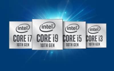 Maîtriser le jeu des processeurs avec les CPU de 10e génération d'Intel