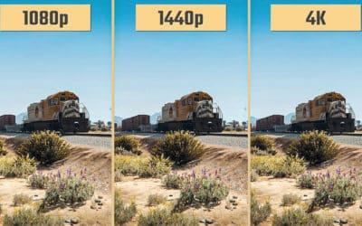 Quelle est la différence entre jouer en 1440p et en 4k ?